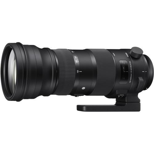 Sigma S 150-600mm f/5-6.3 DG OS HSM Sports - obiektyw do Canon EF Sigma S 150-600mm f/5-6.3 DG OS HSM Sports / Canon