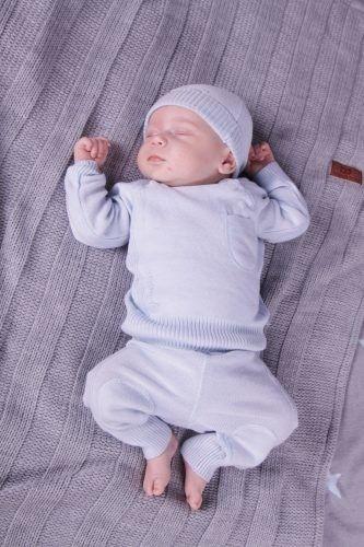 Baby''s Only, Sweterek motylkowy Jasny Szary, rozmiar 56