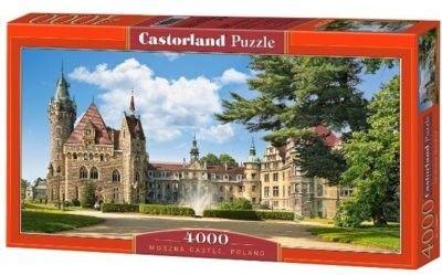 Puzzle Castor 4000 - Zamek Moszna, Polska