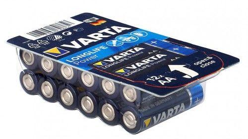 12x Bateria AA / LR6 Varta Longlife Power 4906 (High Energy)