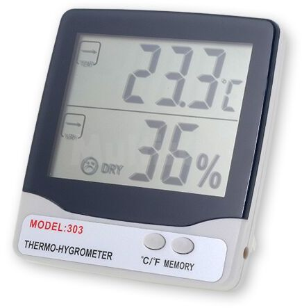 Cyfrowy termohigrometr wewnętrzny