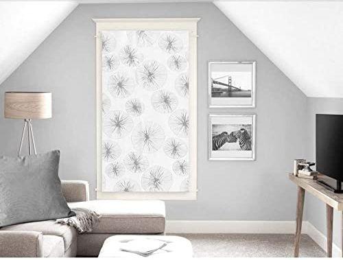 Soleil d''Ocre Lionel zazdrostka, woal, poliester, biały, 60 x 120 cm