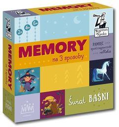 Memory na 3 sposoby Świat baśni ZAKŁADKA DO KSIĄŻEK GRATIS DO KAŻDEGO ZAMÓWIENIA