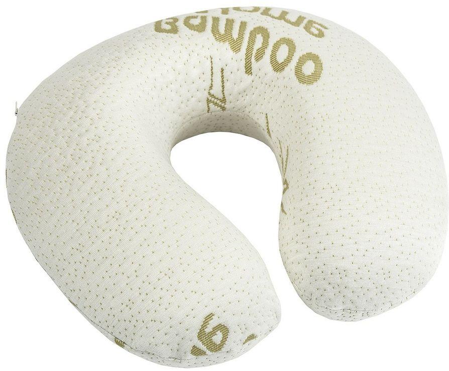 4Home Poduszka podróżna z pianki z pamięcią Bamboo, 32 x 20 cm