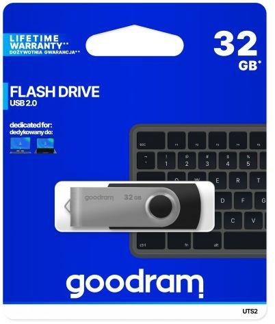 Goodram twister 32gb USB 2,0 czarny pendrive