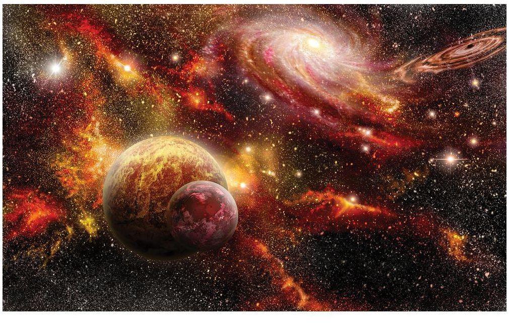 Fototapeta Galaktyki 368 x 254 cm