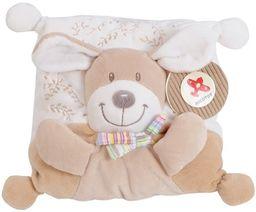 Simba 6305790876 - Nicotoy Baby poduszki, pies, 21 x 21 cm