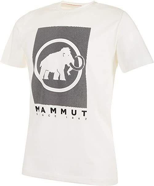 Mammut Męski T-shirt Trovat biały Bright White Prt2 S