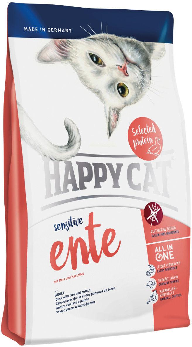 Happy Cat Sensitive Kaczka 300g DLA ZAMÓWIEŃ + 99zł GRATIS!