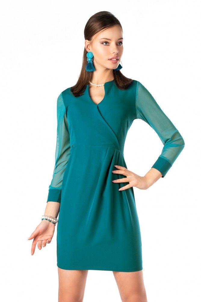 Nisamina Turquoise sukienka
