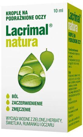 Krople do oczu Lacrimal natura z rumiankiem - 10 ml
