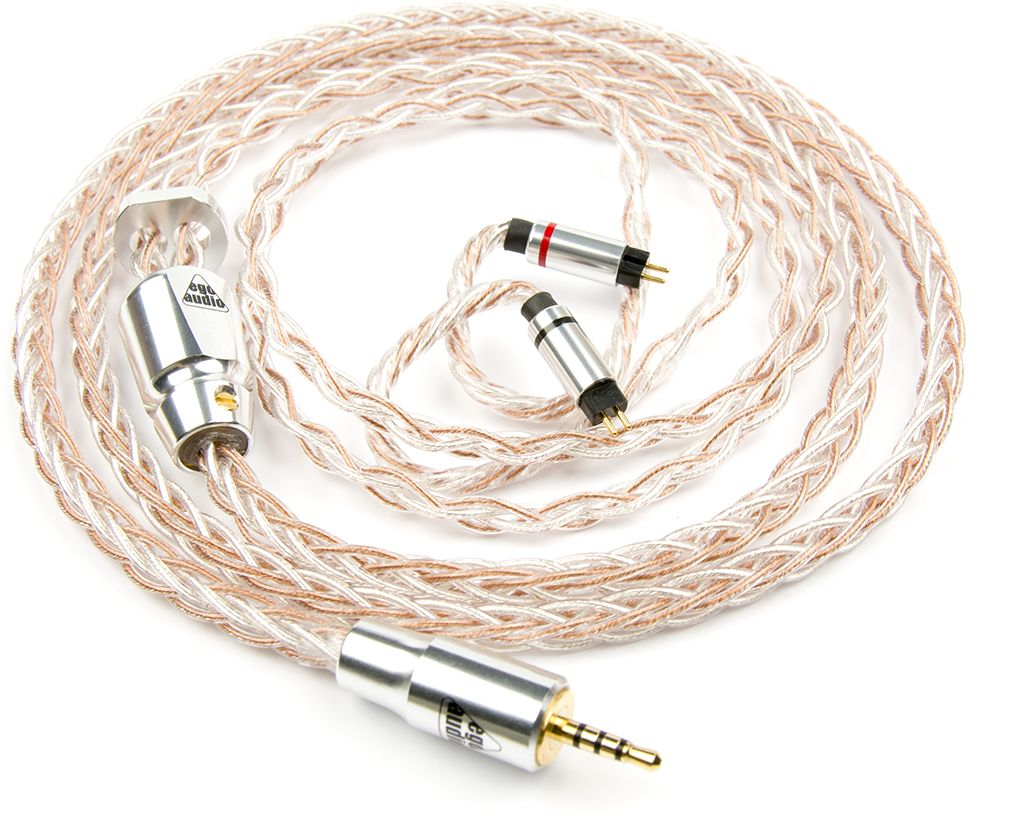 Ego Audio Cocktail Wtyk IEM: 2.5mm, Konektory: MMCX