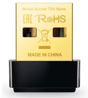 Bezprzewodowa karta sieciowa TP-LINK Archer T2U Nano