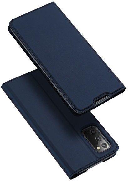 DUX DUCIS Skin X kabura etui pokrowiec z klapką Samsung Galaxy Note 20 niebieski