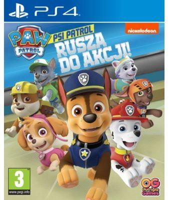 Gra PS4 Psi Patrol: Rusza do akcji!. > DARMOWA DOSTAWA ODBIÓR W 29 MIN DOGODNE RATY
