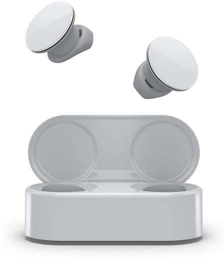 Microsoft Surface Earbuds (jasno-szary) - Kup na Raty - RRSO 0%