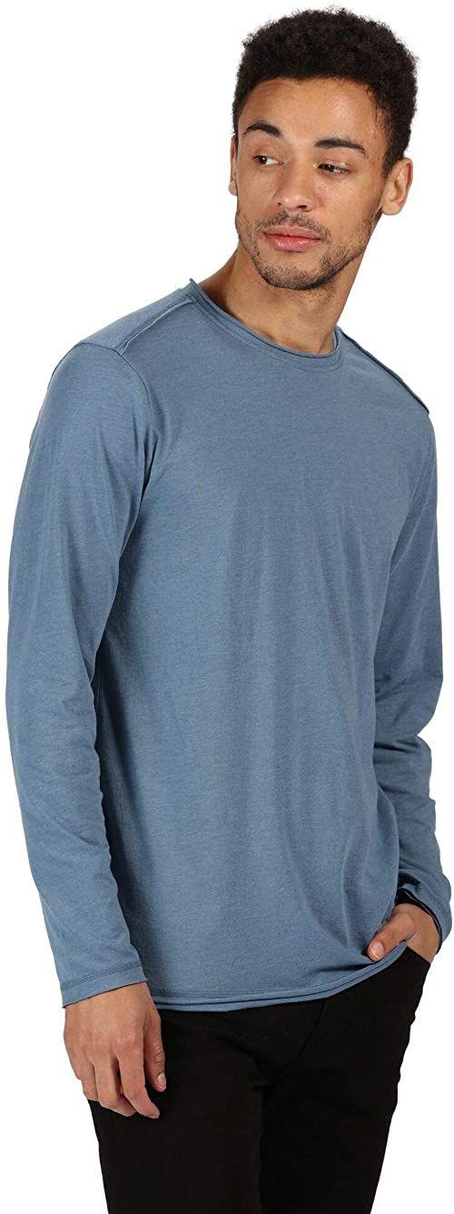 Regatta Męskie koszulki z długim rękawem Karter Ii na co dzień koszulki z długim rękawem/polos/kamizelki Gwiezdny S