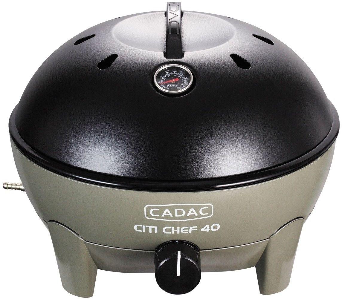 Grill gazowy stołowy CADAC City Chef 38,5cm ZIELONA OLIWKA