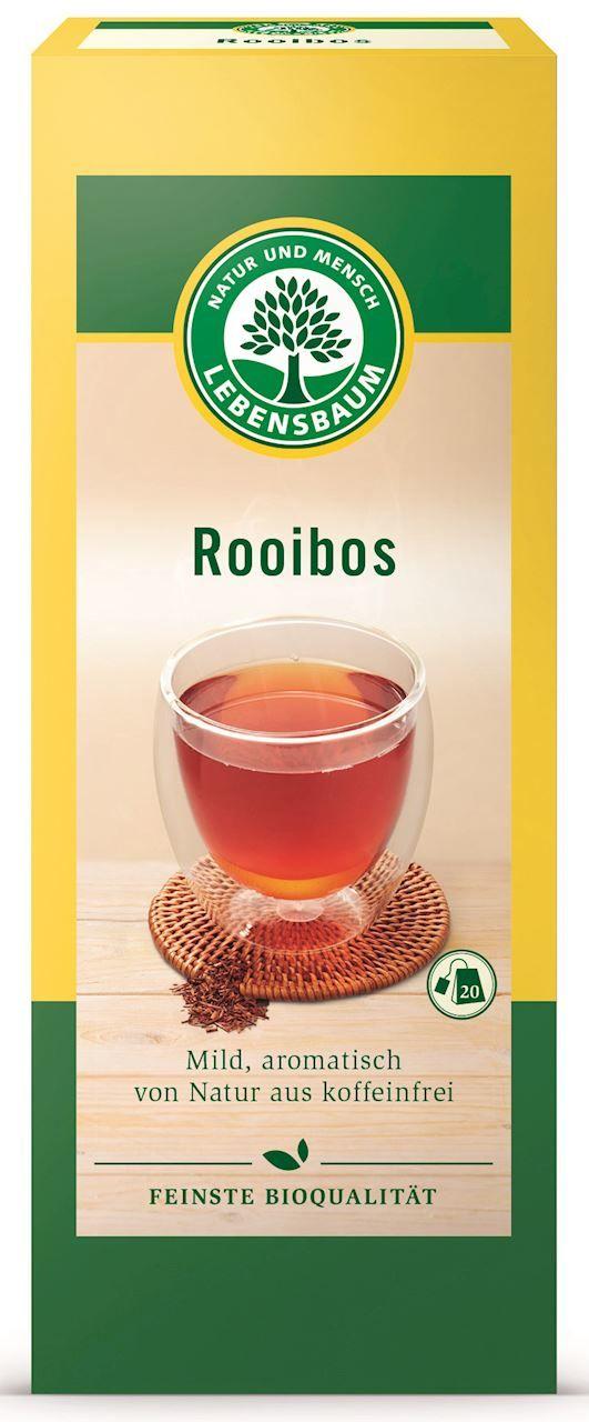 Herbatka rooibos ekspresowa bio 20 x 1,5 g - lebensbaum