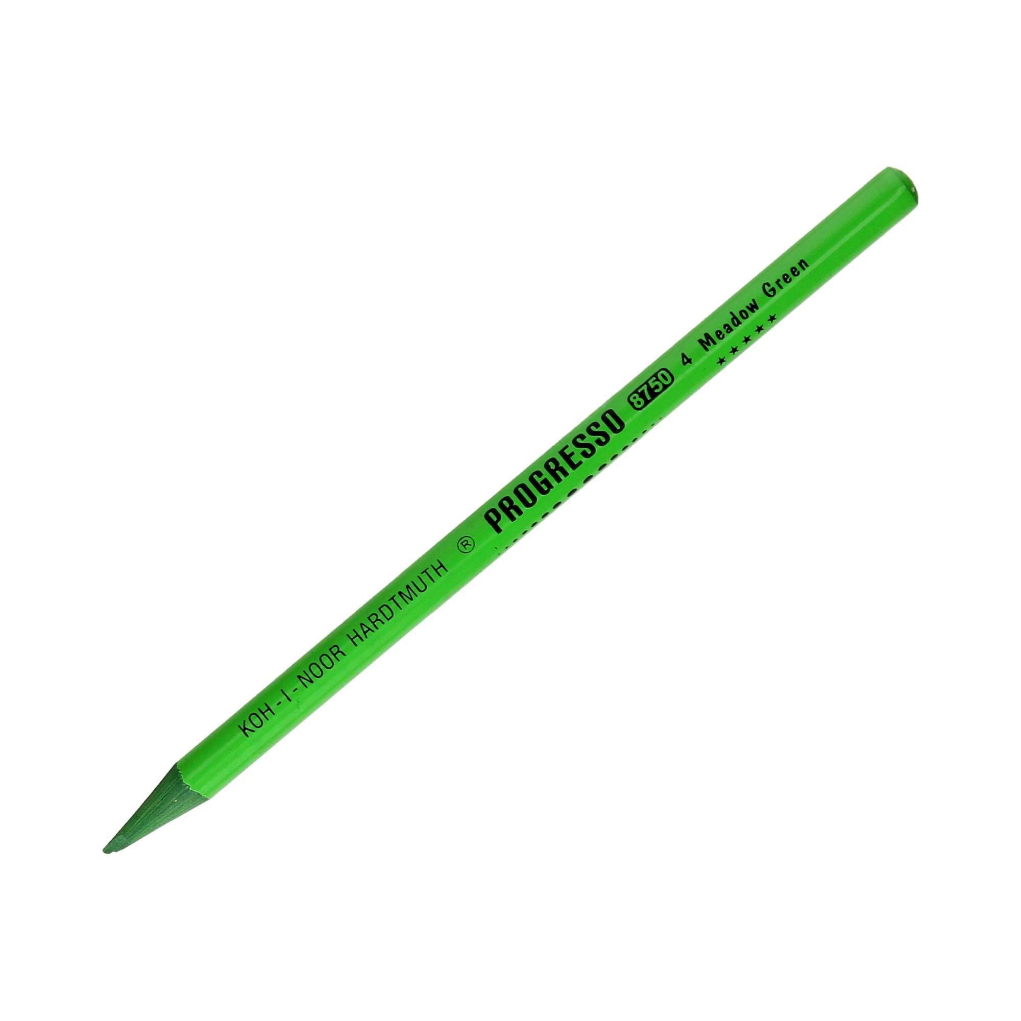 Kredka ołówkowa bezdrzewna zielona Progresso KIN 8750/04