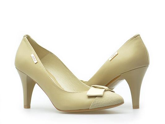 Pantofle Emis SALS6775/205 Beżowe