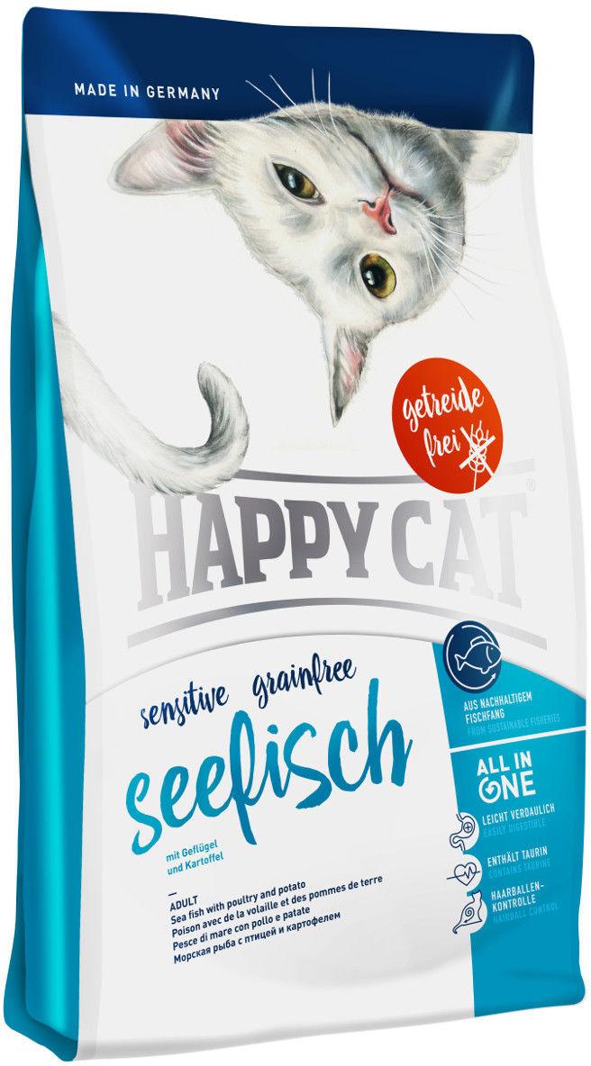 Happy Cat Sensitive Grainfree Ryba Morska 300g DLA ZAMÓWIEŃ + 99zł GRATIS!