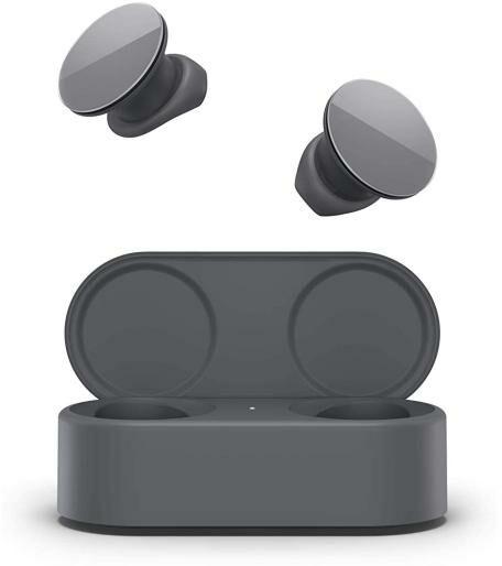 Microsoft Surface Earbuds (ciemno-szary) - Kup na Raty - RRSO 0%
