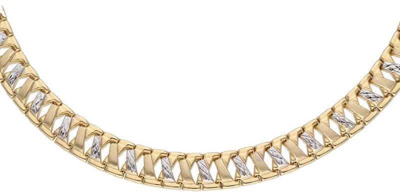 Złoty naszyjnik 585 masywny łańcuszek 24,01g
