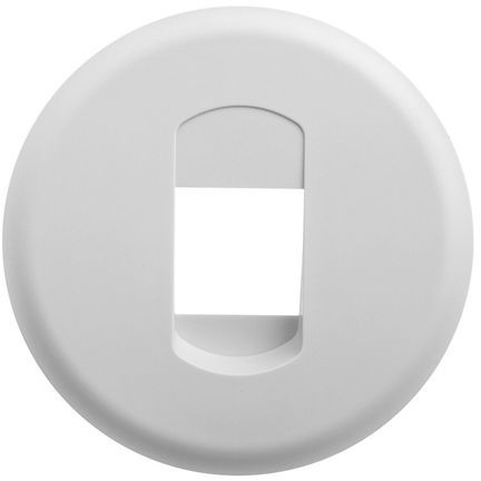 CELIANE Plakietka gniazda głośnikowego pojedynczego biała 068211