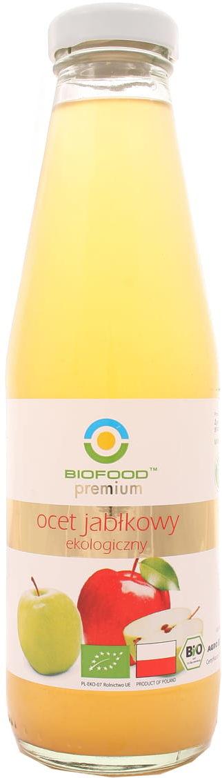 Ocet jabłkowy BIO - Biofood - 500ml