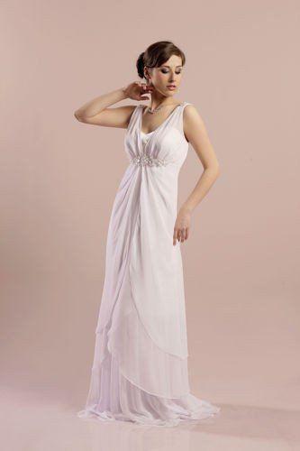 FSS573 Suknie Ślubne Suknia BIAŁY