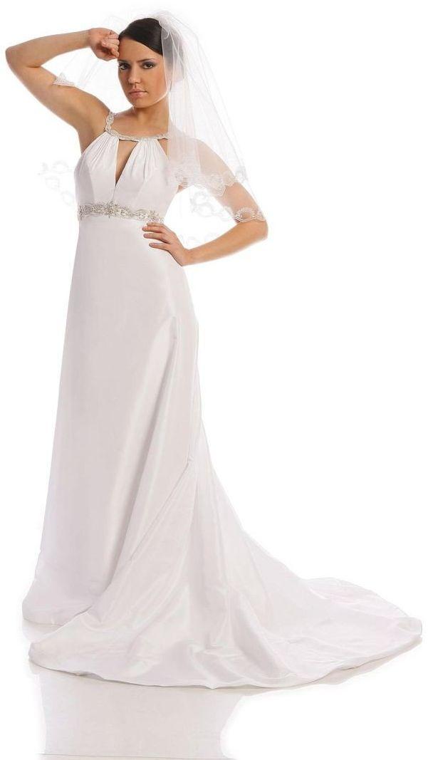 FSS529 Suknie Ślubne Suknia BIAŁY
