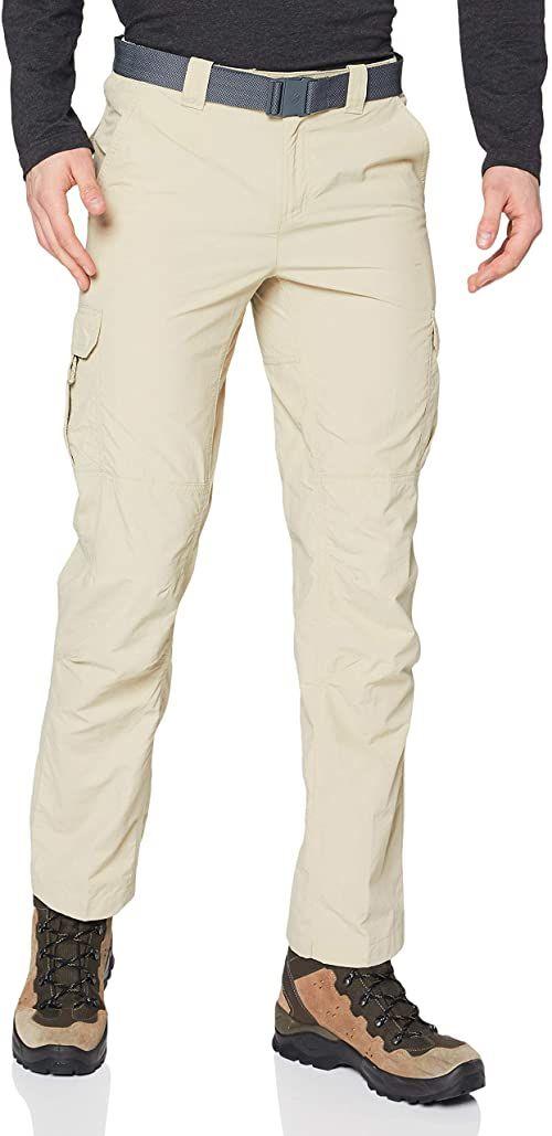 Columbia Silver Ridge II męskie spodnie cargo biały Beige (Fossil) 30W / 32L