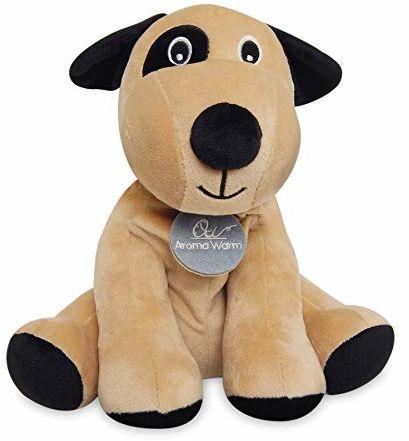 Aroma Warm Pluszowe zwierzątko pies beżowy (AW212)