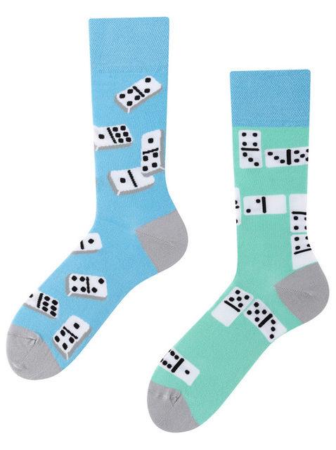 Dominoes Game, Todo Socks, Domino, Gra, Kolorowe Skarpety