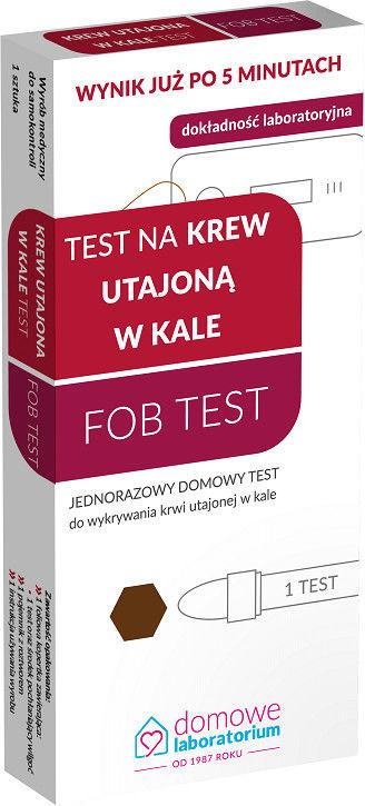 Domowe Laboratorium Zdrowe jelito FOB Test