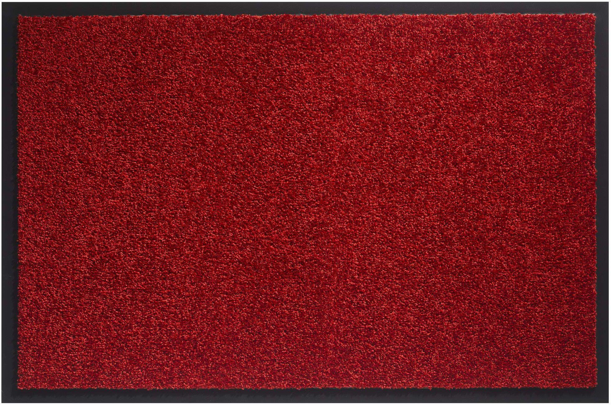 Twister wycieraczka przeciwpyłowa, do użytku we wnętrzach, poliamid czerwony, 60 x 80 cm