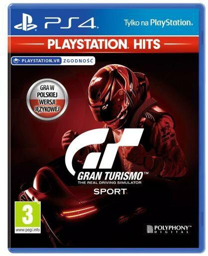 Gran Turismo Sport - PlayStation Hits PS4 / PS5 - szybka wysyłka!