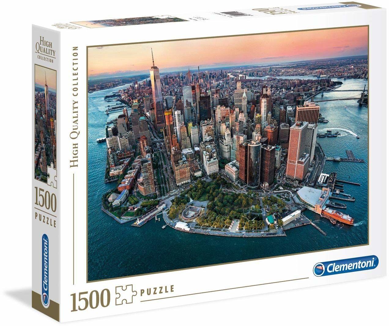 """Clementoni 31810"""" New York Puzzle 1500 części High Quality Collection, wiele kolorów"""