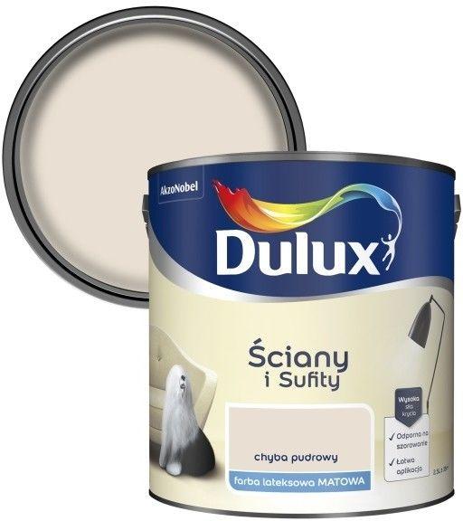 Farba Dulux Ściany i Sufity chyba pudrowy 2,5 l