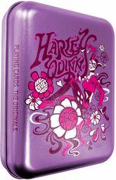 Cartamundi DC Comics Harley Quinn karty do gier w wytłaczanej puszce retro, metal