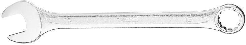 Klucz płasko-oczkowy 15x190mm 09-715