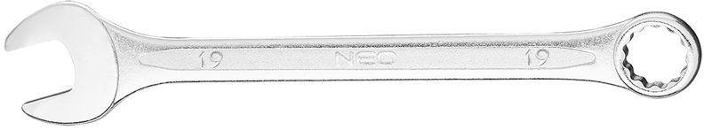 Klucz płasko-oczkowy 19x230mm 09-719