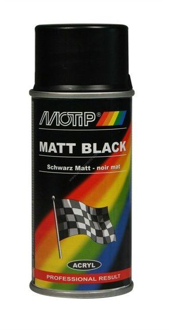 Lakier akrylowy matowyowy Motip 150 ml czarny Darmowa dostawa