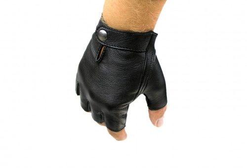 Męskie rękawiczki bez palców, pełne, bez otworów