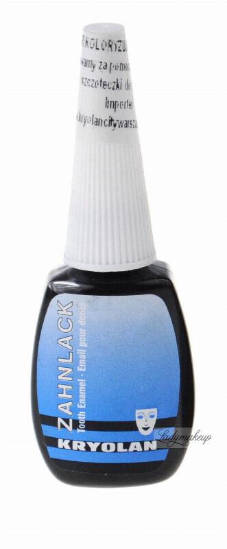 KRYOLAN - ZAHNLACK - Lakier koloryzujący do zębów - BLACK