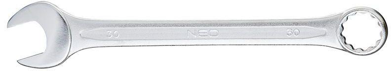 Klucz płasko-oczkowy 30x340 mm 09-730