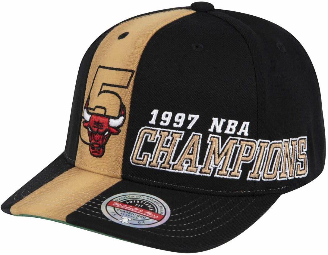Czapka z daszkiem Mitchell & Ness NBA Chicago Bulls 97 Champs Stretch