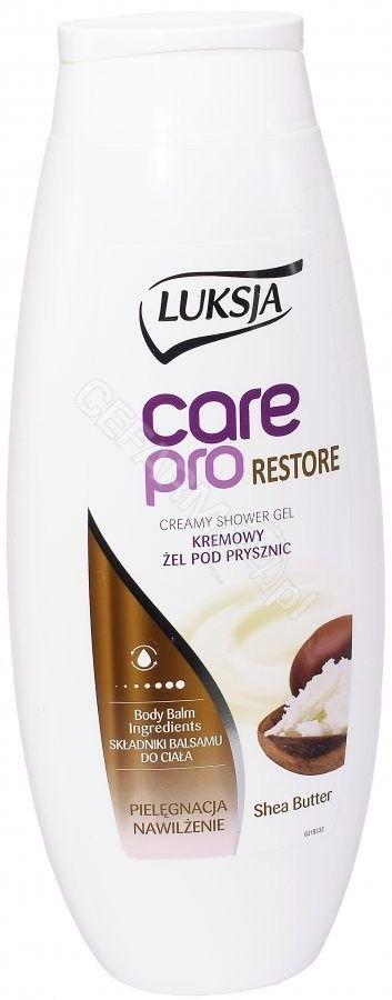 Luksja Żel pod prysznic dla kobiet Care Pro Restore Shea Butter 500ml