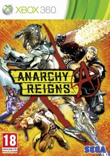 Anarchy Reigns X360